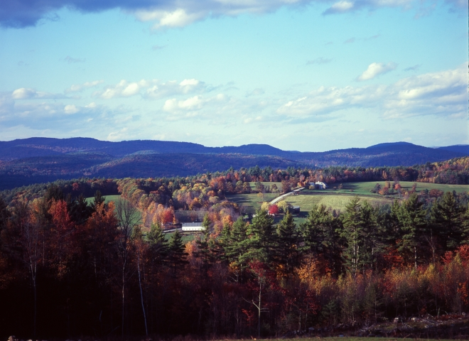 New Hampshire Fall