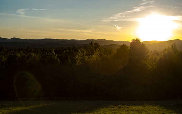 Sunset – Kimball Hill Hillsborough NH