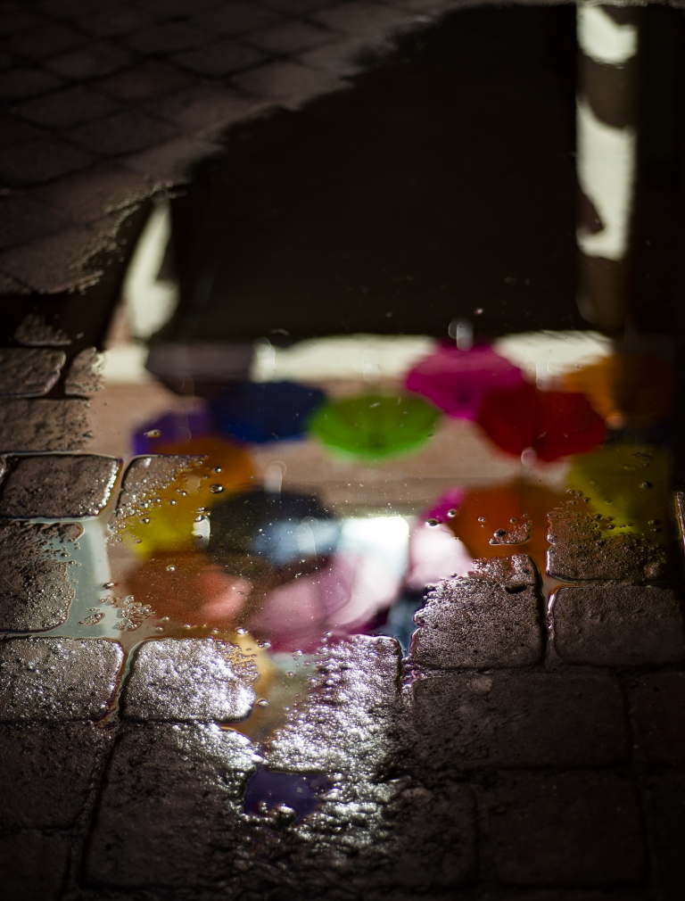 Puddle of Color